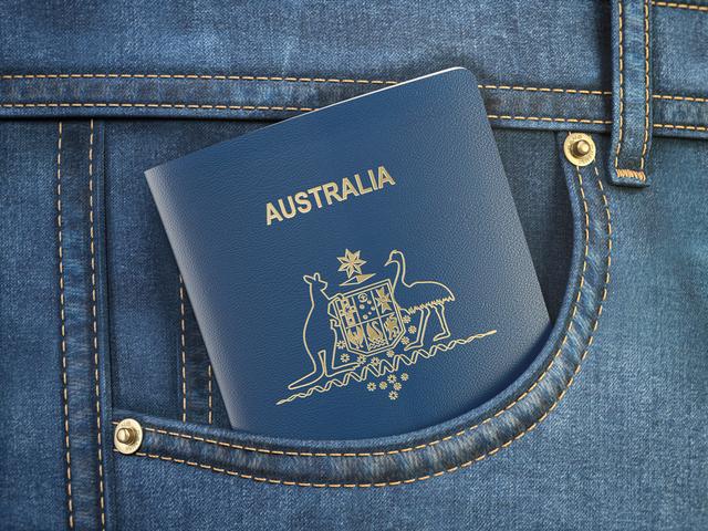 Passport of Australia