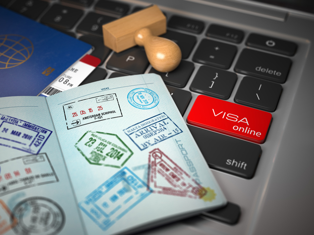 Visa online application